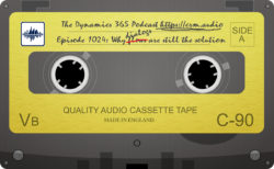 Deprecated dialogs podcast tape